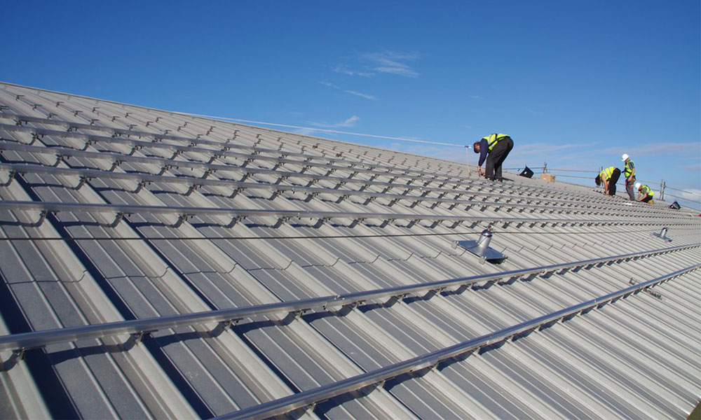 easy install of metal roofing sheet