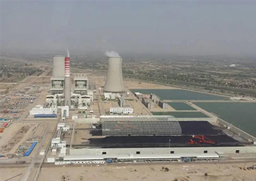 Yumisteel project-A thermal power station project in Pakistan