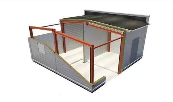 sandwich panel installation