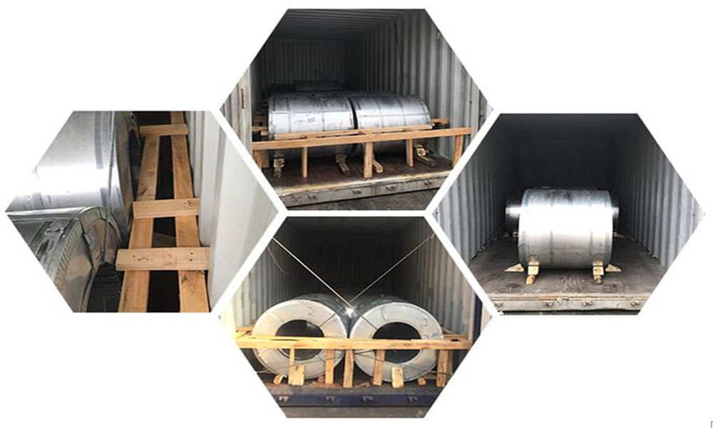 steel coil packing