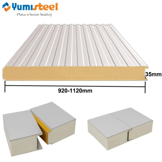35mm PU sandwich panels