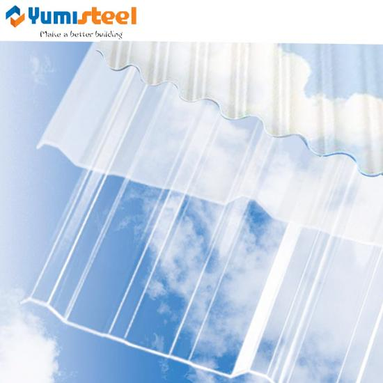 translucent polycarbonate roofing panel