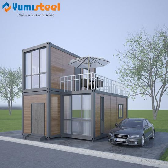 prefabricated stair container