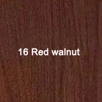 16 Red walnut